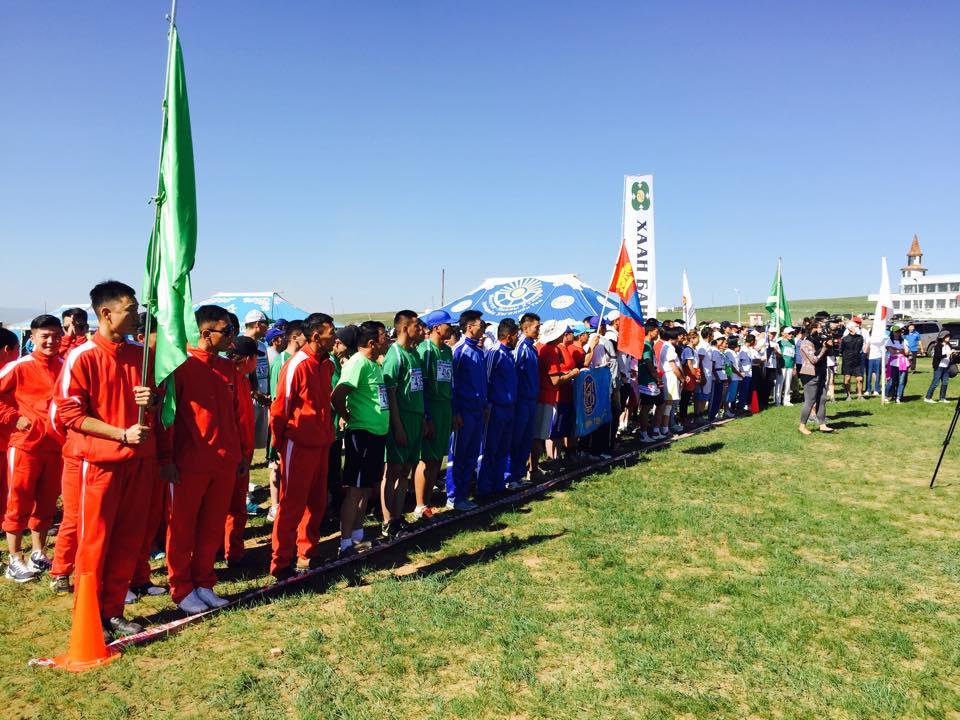 """""""Монголын тал нутаг"""" олон улсын марафон гүйлтийн тэмцээн амжилттай болж өндөрлөлөө."""